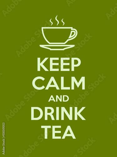 zachowaj-spokoj-i-pij-motywacyjny-cytat-z-herbaty-plakat-z-jasnozielonym-znakiem-i-tekst-na-ciemnym-tle-ilustracji-wektorowych