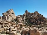 Rocks in the Desert of the Joshua Tree Park