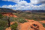Overlook by Campfire Rock Ring, Sedona, Arizona, USA, horizontal
