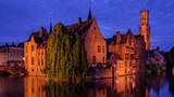 Bruges, Belgium. Famous photo spot