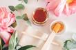 Leinwanddruck Bild - sugar paste for hair removal