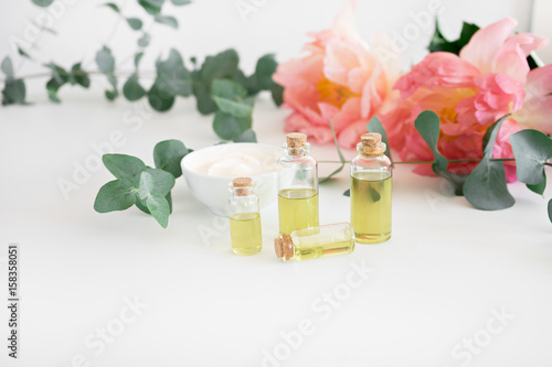 Natural domestic products for skincare Poster