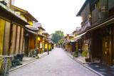 京都 八坂通の町並み