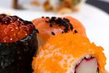 sushi pieces in a macro photography © pepebaeza