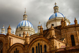 The Church of the Immaculate Conception in Cuenca, Ecuador - 158377872
