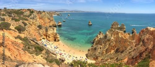 Beach Praia do Camilo near Lagos, Algarve Portugal