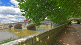 Thames Path at the Kew Bridge - 158388432