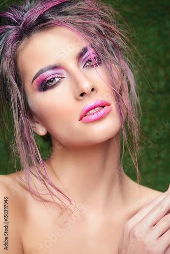 glamorous makeup style Poster