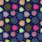 Seamless floral pattern - 158421465