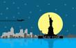 City scape background - 158425462