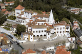 Palace of Sintra - near Lisbon - Portugal poster