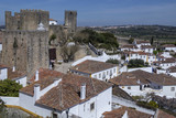 Medieval Town of Obidos - Portugal poster