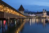 Chapel Bridge - Luzern - Seitzerland poster