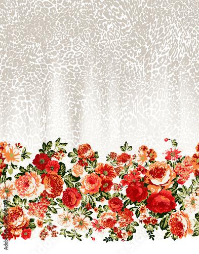 Flower Border Pattern - 158450432