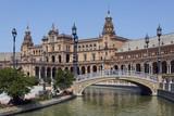 Plaza de Espana - Seville - Spain poster
