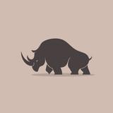 Rhino Silhoulette - 158461236