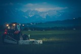 Grass Mowing on the Farm
