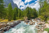 Mountain River Rush - 158470871