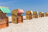 Strandkörbe an der Ostsee - 158489852