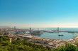 View from Montjuic mountain