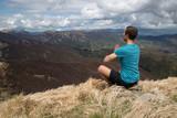 Meditare su una montagna