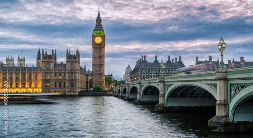 Westminster Bridge with Big Ben