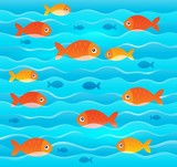 Stylized fishes topic image 2