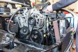 Automotor in der Werkstatt - 158577823