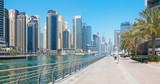 DUBAI, UAE - APRIL 1, 2017: The Marina promenade. - 158583610