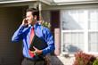 Home: Agent Waits Outside of House