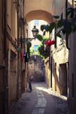 Beautiful little street in Italy
