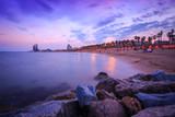 Abenddämmerung in Barcelona