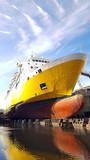 ship refitting at drydock - 158609012
