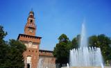 Milan Sforzesco Castle Italy