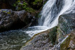 Waterfall close-up - 158661237