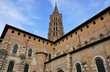 The Basilica Saint-Sernin Romanesque church in Toulouse, France