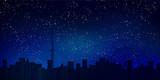 東京 スカイツリー 夜景 背景