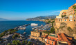 Panoramic view of Sorrento, the Amalfi Coast, Italy