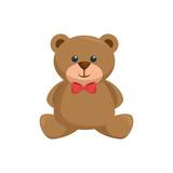 Teddy bear toy icon vector illustration graphic design - 158716280