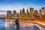 New York, New York, USA Manhattan Cityscape.