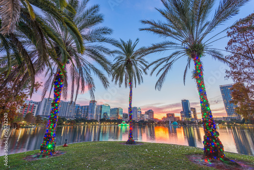 Orlando, Florida, USA Skyline.