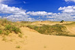 Desert landscape in Manitoba, Canada