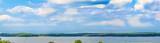 Panorama von der Müritz,Waren