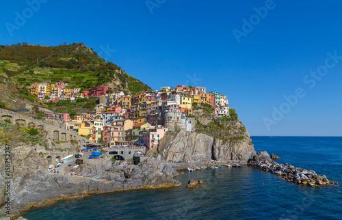 Manarola Cinque Terre Ligurien Italien Poster