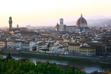 Michelangelo Square is a square with a beautiful panoramic view of Florence, Italy. Waiting for the sun set is a must when visit this city.