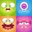 Monster Faces - 158778450