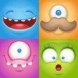 Monster Faces - 158778480