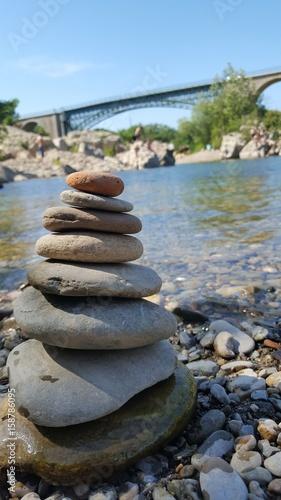 Papiers peints Zen pierres a sable Réals