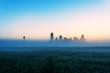 Foggy Dallas Dawn