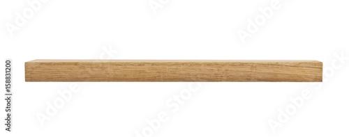 Foto op Aluminium Brandhout textuur oak wooden beam